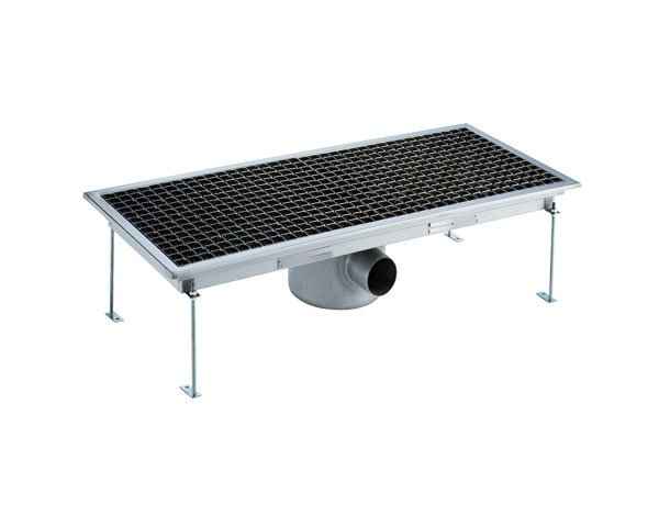 Crystal UMHU0603   Industrial Floor Drain /  Horizontal Outlet Ø:70 mm, 75x30x15 cm