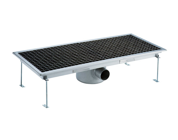 Crystal UMHU0604   Industrial Floor Drain / Horizontal Outlet Ø:70 mm, 95x30x15 cm