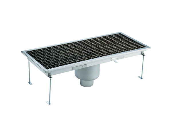 Crystal UMHU0603V   Industrial Floor Drain / Vertical Outlet Ø:70 mm, 75x30x15 cm