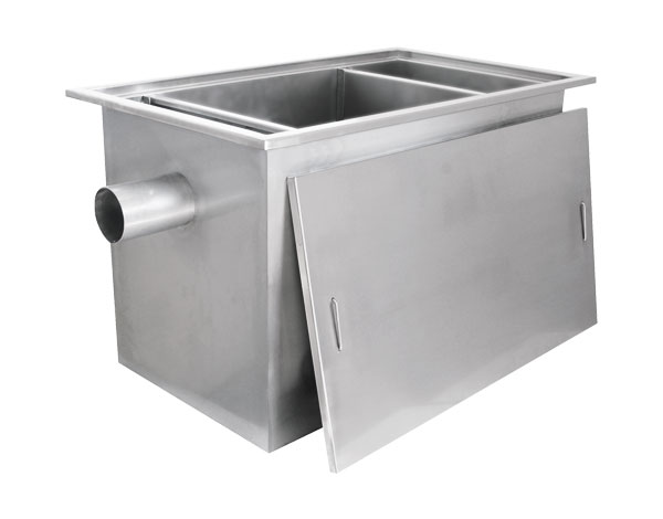 Crystal UMHU0501   Industrial Grease Trap / Stainless Steel 80x50x50 cm