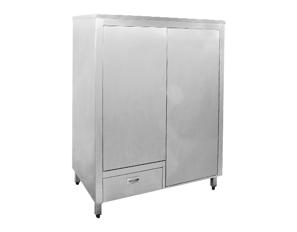 Crystal UMBC06   Kitchen Cabinet / Stainless Steel 100x55x160 cm