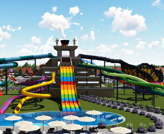 The biggest aquapark project in Ukraine has started