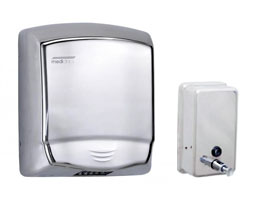Soap Dispensers & Hand Dryers